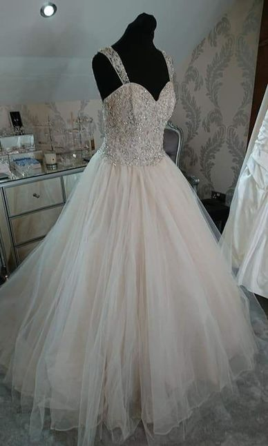 Mori Lee Size 16 Light Lilac / Blush