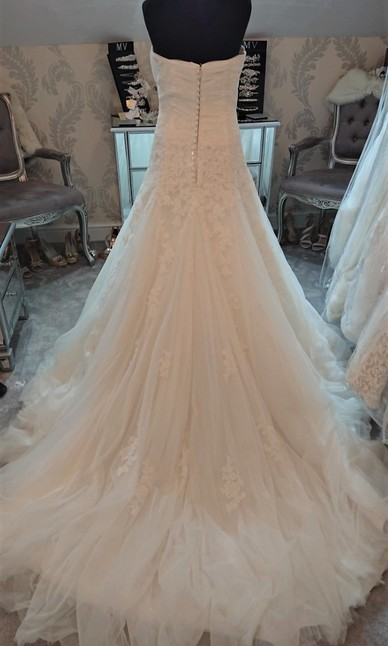 Pronovias Ivory -  Back Size 10/12