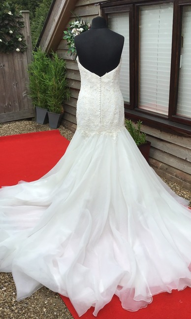 Maggie Sottero Size 12/14 Back