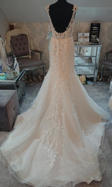 Mori Lee Size 10 Back
