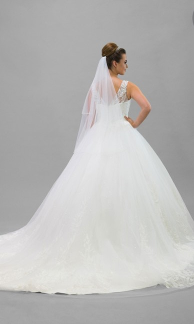 Elite Bridal - Ivory NEW Back