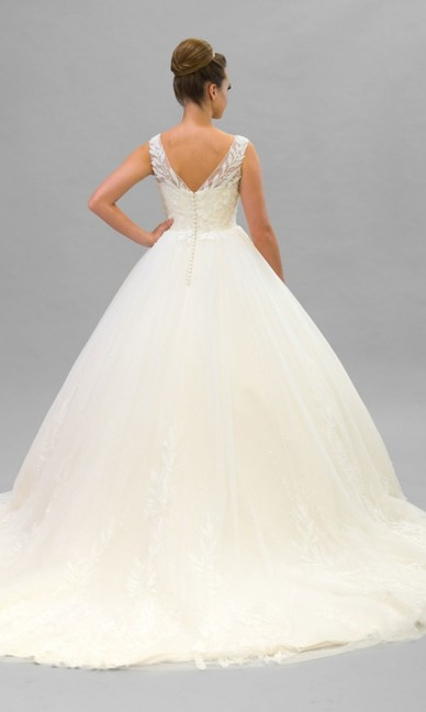 Elite Bridal Light Champagne NEW Back