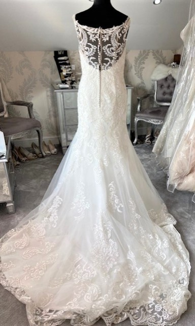 Eternity Bride Silver/Ivory Size 12 Back